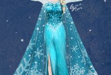 Costumes / Themes Anna Frozen