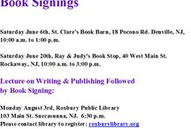 Crestwood Lake Book Signings / Mark R. Vogel will be selling/signing copies of his horror novel CRESTWOOD LAKE