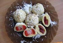jahodový knedlíky