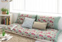 pillows sofa project