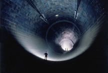 wind tunnels and vintage scifi structures
