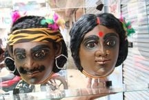 Mask Art of Purulia,Bengal ,India