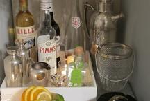 Liquor Trays & Silver Displays