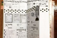 AGENDE/PLANNERS/Bullet Journal/Sketchnotes/abbellimenti/ idee