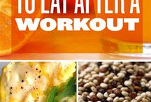 Foods to eat after a workout