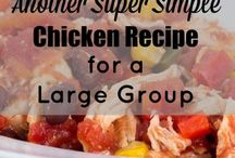 Recipes/Large groups