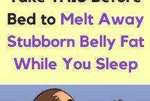 Stubborn belly fat