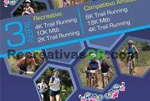Recreativas MTB Abril 2016 / Calendario de Eventos de Ciclismo Recreativo en MTB para Costa Rica