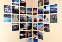 decorare con le foto