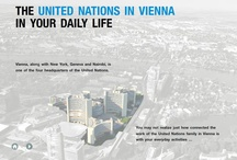 "The UN in Vienna in Your Daily Life / The interactive publication ""The United Nations in Vienna in your Daily Life"" is a must-see for anyone interested in finding out just how connected the work of the UN family in Vienna is with your everyday activities. The publication covers a range of UN organizations, with this board showcasing some of the areas that UNODC works on. Visit http://ow.ly/i5N6L for more. / by UNODC"