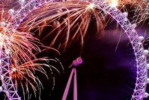 New Year's Eve Parties / 31st December is one of the biggest nights in London. Join millions of Londoners take the street to welcome the new year with epic fireworks and, of course, parties!