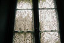 Белые занавески. / White curtains. Moskow romans.