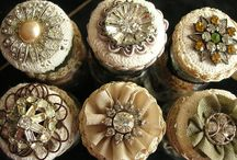 Button LOVE / I LOVE buttons....I actually joined the National Button Society to get some beauties that I incorporate into my designs...they just do not make 'em like they used to! / by iDazz Custom Designs