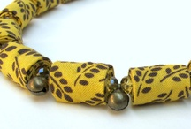 perles en tissu