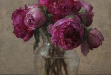 pittura floreale