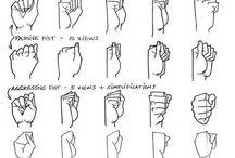Referências Anatômicas #1 : Mãos e Pés