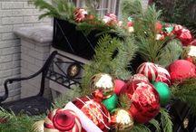 balcon navidad