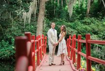 Charleston Engagement Photo Inspiration - Kate Timbers Photography / Charleston engagement photos have a sweet, bright glow to them. Something that brings out the love and sparkle of romance. What I love most about photographing couples here!