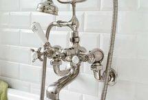 Bathrooms / 1920s era inspiration