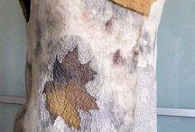 ecoprint på nunofilt
