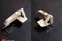 Star wars miniatures(ships)