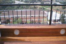 Instalación de tarima de madera en balcón en el Masnou