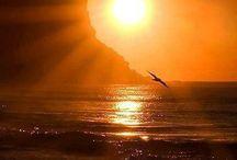 """Coucher de soleil / """" Une image vaut mille mots. """"    (Confucius)"""