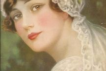 Portraits affiches tableaux
