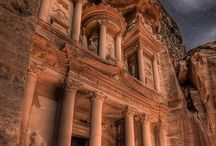 I' d love to visit Petra. The pink city