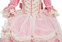 vestidos victorianos de niña