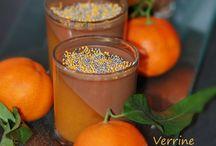 Verrines clémentines chocolat
