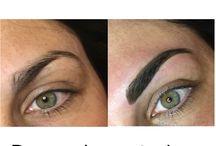 Tattoo eyebrows / Tatuaggio semipermanente delle sopracciglia