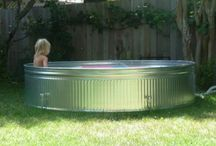 4 Lex & My GranBabies ☺ / Homemade n Portable Pools  - Sandboxes - Swings - Flower Beds - Pest Control for rural apartment living with little yards  / by Lisa DeHart