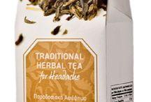 100% Natural Herbal Tea for Headache Pain Relief