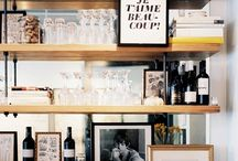 Having a drink / Discover some nice bars around the world or get inspired to make your bar corner at home.