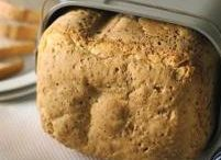 Ekmek makinasında ekmek