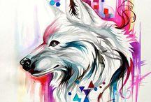Kresba vlci