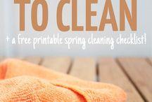 Sprzątanie / cleaning
