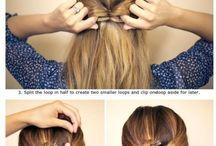 hair styles to school