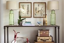 Console table displays