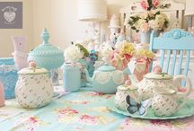 Tea, cupscakes and other sweets