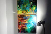 Luz e cor / Recantos