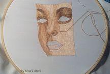 Вышивка гладью Needle painting embroidery     (мои работы) / Вышивка гладью (мои работы)