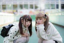 mim mam / 日本が誇る双子美少女モデルちゃん。