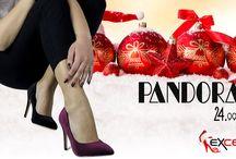PANDORA Γυναικεία γόβας βελούδο μπορντό 646    24,99€