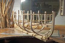 wood model ships