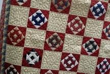 Churndash and Shoofly quilts