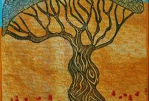 Art Quilts / Inspiration for art quilts