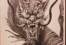 Tatouages - Dragon