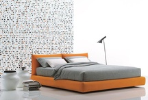Modern King-size Mattress Uphostered White REAL Leather Dream Bed